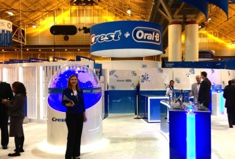 MPG designed and produced a highly interactive new trade show display for Crest + Oral-B.