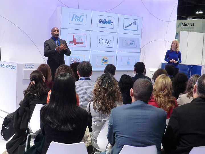 An interactive trade show presentation created by MPG for P&G skin care brands reached thousands of dermatologists at AAD.
