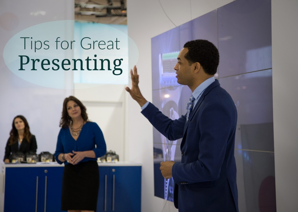 These public speaking tips can help you hold your audience's attention like this MPG presenter.